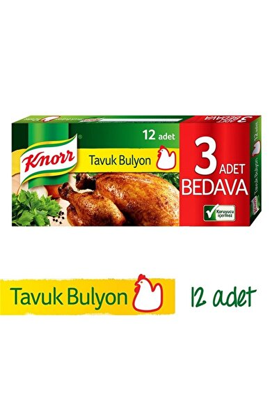Knorr Tavuk Bulyon 6 Lt (12 Li) 120 Gr