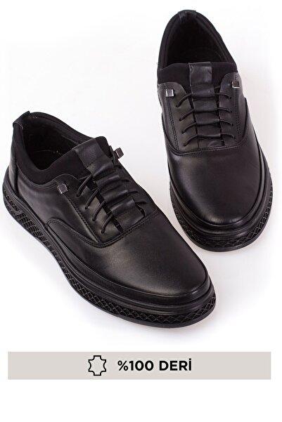 maximoda Hakiki Deri, Ortopedik, 4 Mevsim, Bagcıksız, Erkek Ayakkabı