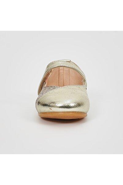 Panço Kız Çocuk Altın Babet 19142089231