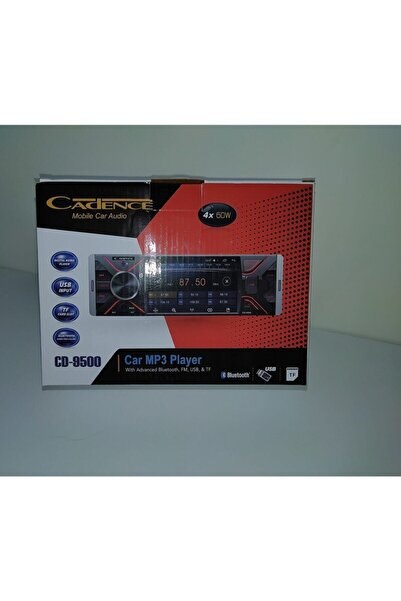 Cadence Cd-9500 Ekranlı Bluetooth Multimedia Oto Teyp