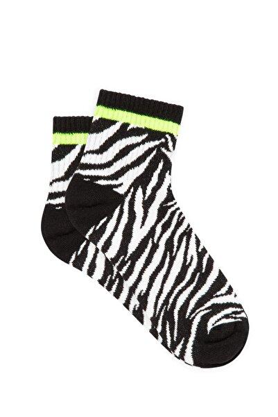 Mavi Kadın Siyah Soket Çorap 197957-900
