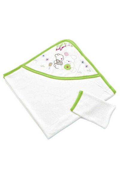 Babyjem Unisex Bebek Beyaz Yeni Doğan Havlusu 170.01.062.Bye.00000