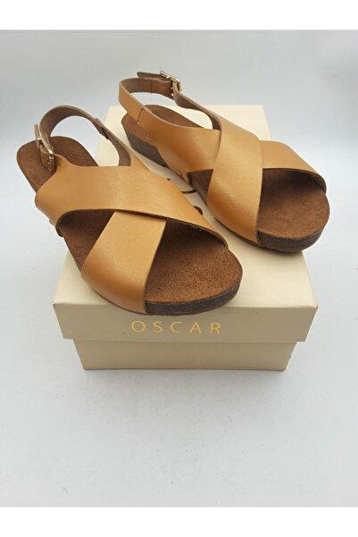 Oscar Kadın Sarı Sandalet