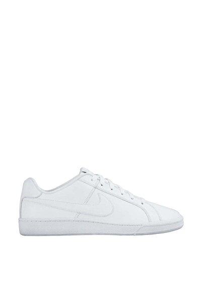 Erkek Beyaz Bağcıklı Court Royale Sneaker