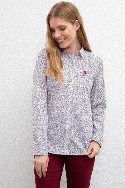 U.S. Polo Assn. Kadın Gömlek G082SZ004.000.997074