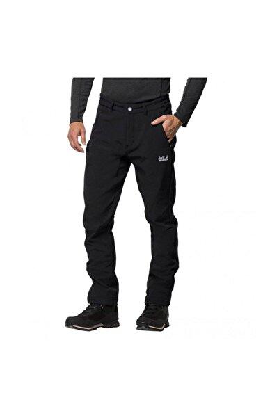 Jack Wolfskin Erkek Siyah Zenon Softshell Pants Men Pantolon