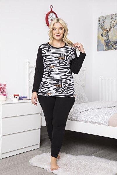 MyBen Kadın Siyah Pijama Takımı