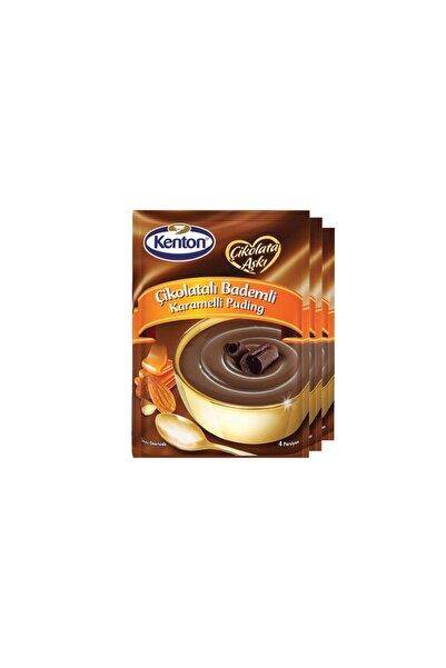 Kenton Çikolata Aşkı Bitter Çikolatalı Puding 100 gr X 3'lü Paket