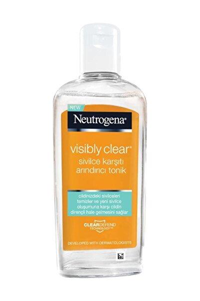 Neutrogena Visibly Clear Sivilce Karşıtı Arındırıcı Tonik 200 ml