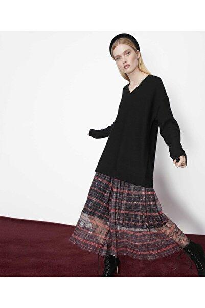 İpekyol Kadın Siyah Çift Parça Elbise