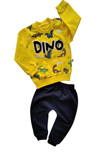 Bebek Exclusive Erkek Bebek Sarı Lacivert Takım