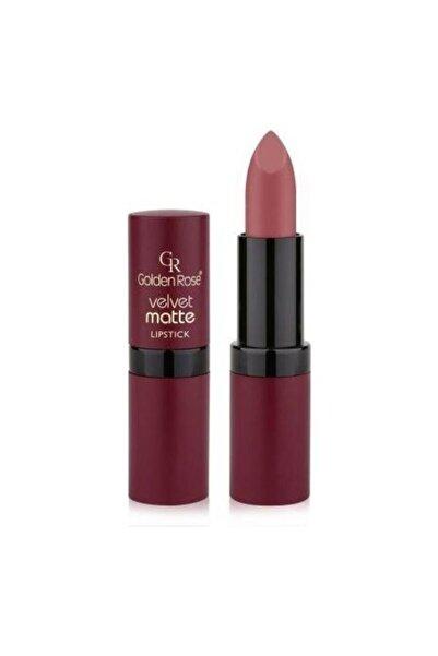 Golden Rose Velvet Matte Lipstick Ruj No:16