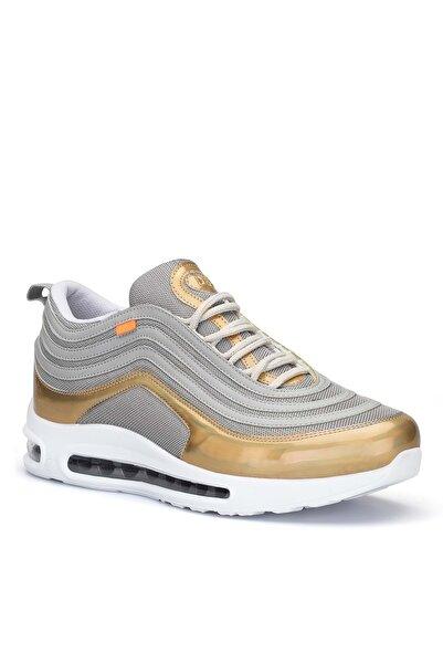 DARK SEER Unisex Gümüş Altın Sneaker A95.UN