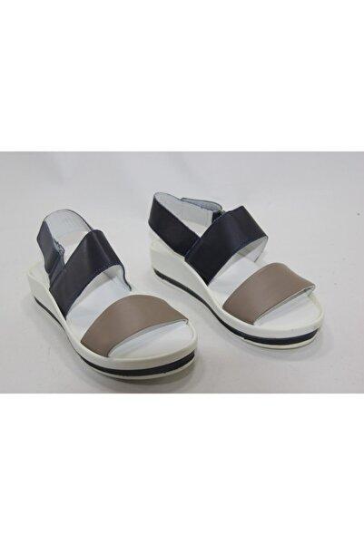 İnci Kadın Beyaz Hakiki Deri Topuklu Ayakkabı