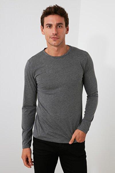 TRENDYOL MAN Çok Renkli Erkek 2'li Paket Süprem Bisiklet Yaka T-Shirt TMNAW20TS0248