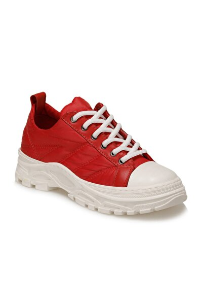 Butigo Lee Kırmızı Kadın Havuz Taban Sneaker