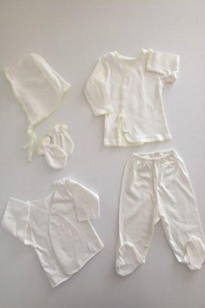Miniworld Kız-erkek Bebek Lüks Acil Hastane Ihtiyaç Seti 5 Parça Ilk Kıyafet