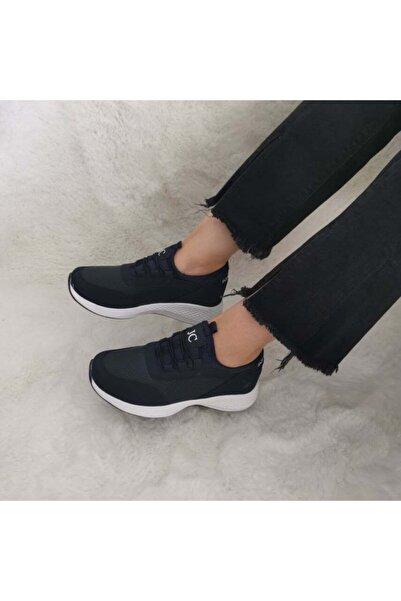 GEZER Yeni Sezon Aqua Ortopedik Ipli Lastikli Bayan Yürüyüş Spor Ayakkabı Sneaker