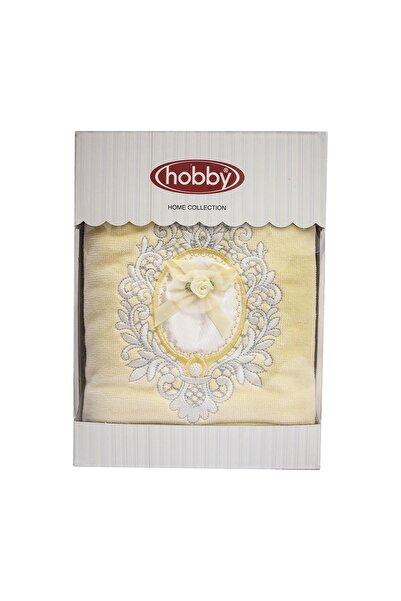 Hobby Hooby Leydi Sarı Eva Yüz Havlusu 50x90-004887