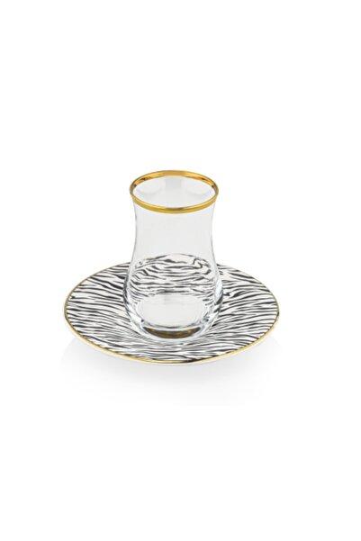 Taç Lilya Çay Seti 6 Kişilik
