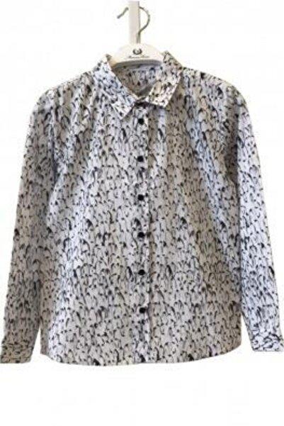 Monna Rosa Erkek Çocuk Desenli Gömlek
