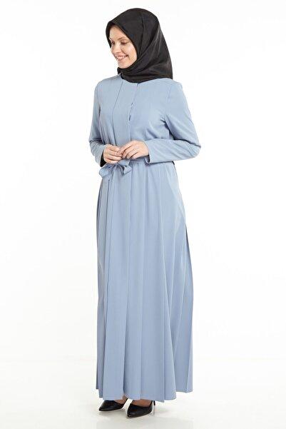 Tuğba Kadın Mavi Pardesü Tk-m5281-16
