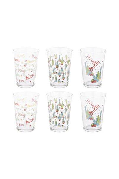 Tantitoni Lovely Cactus Su Bardağı Takımı 6 Parça 008-01