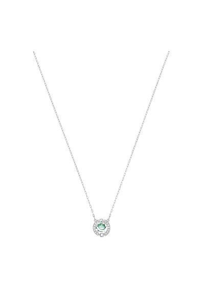 Swarovski Kolye Sparkling Dc:Necklace Green Czfg/Cry/Rhs 5496308