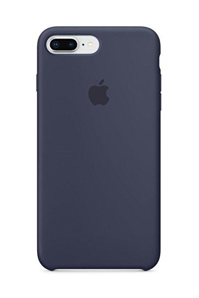 Telefon Aksesuarları Iphone 7 Plus / 8 Plus Silikon Gece Mavisi Kılıf