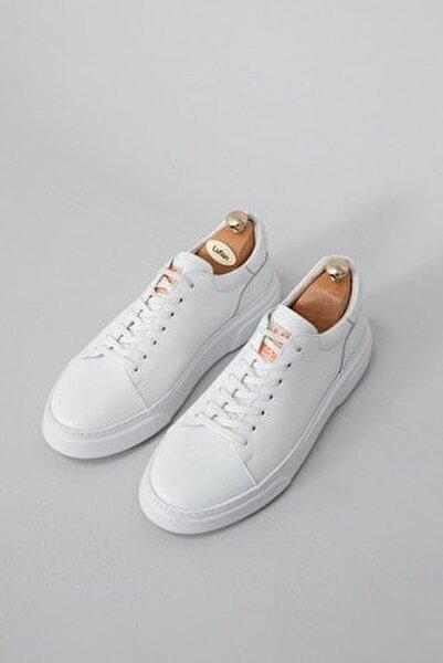 Tommy Deri Sneaker Beyaz