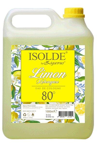 Zigavus Isolde 1 Litre 80 Derece Limon Kolonyası