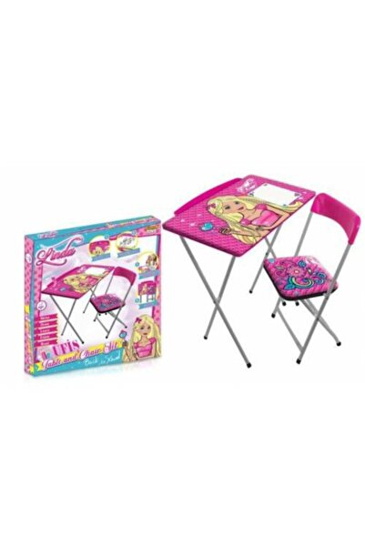 Mashotrend Prenses Linda Ders Çalışma Masası - Prenses Ders Çalışma Masası - Masa Sandalye Ders Çalışma Masası