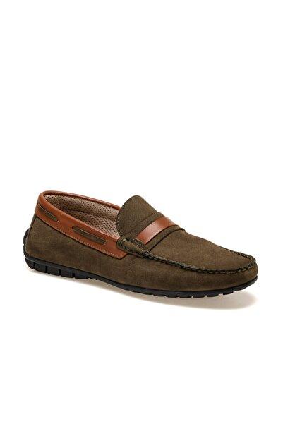OXIDE Erkek Haki Loafer Ayakkabı
