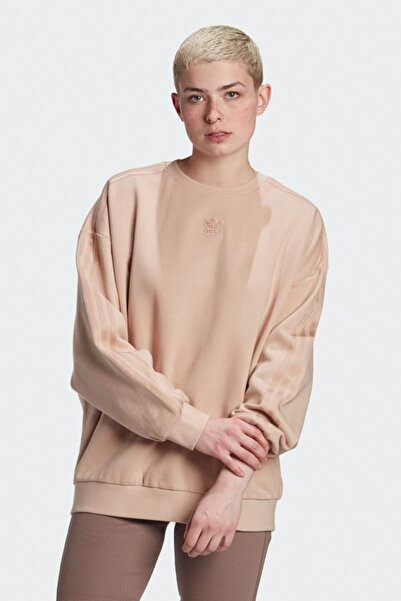 adidas Kadın Spor Sweatshirt - Crew Sweatshirt - GM6697