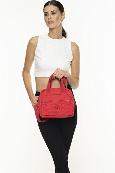 United Colors of Benetton Kadın Kırmızı El Çantası  Bnt220