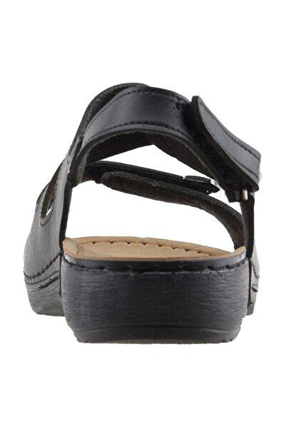 Jump Kadın Siyah Günlük Sandalet