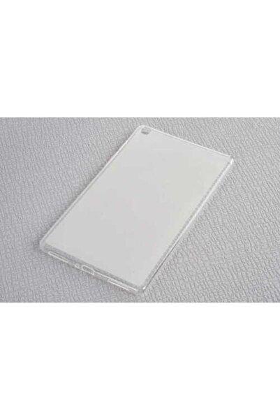 zore Samsung Galaxy Tab A 8.0 2019 T290 Tablet Süper Silikon Şeffaf Tam Uyumlu