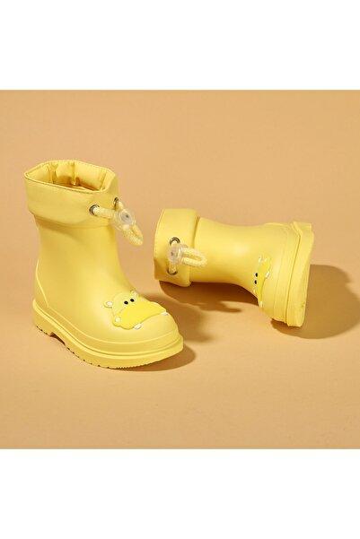 IGOR Çocuk Sarı Su Geçirmez Yağmur Kar Çizmesi Igor W10214