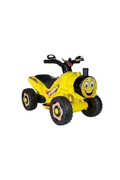 UJ Toys Işıklı Ve Müzikli Buddy 6v Akülü Mini Atv-sarı( 2-3-4 Yaşlara Uygun)