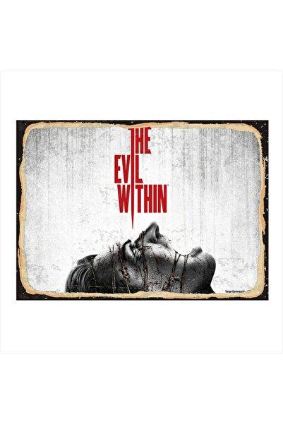 Tablomega Ahşap Tablo The Evil Within 35cm X 50cm