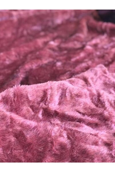 dugalkumaş Pembe Renk Peluş Kumaş