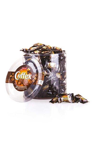 Elvan Coffex Kahveli Şeker 1000 Gr. Silindir (1 Kutu)