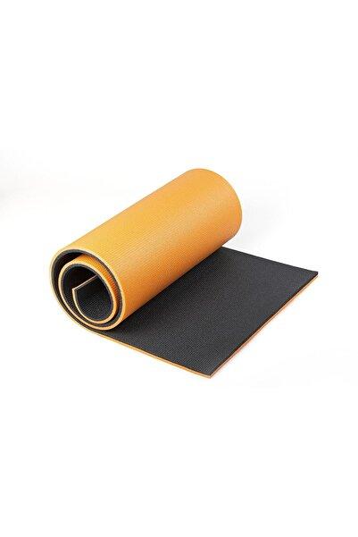 READYTOBEAT Turuncu Gri Çift Renkli Pilates Minderi / Yoga Matı 180 Cm X 60 cm X 1.6 cm
