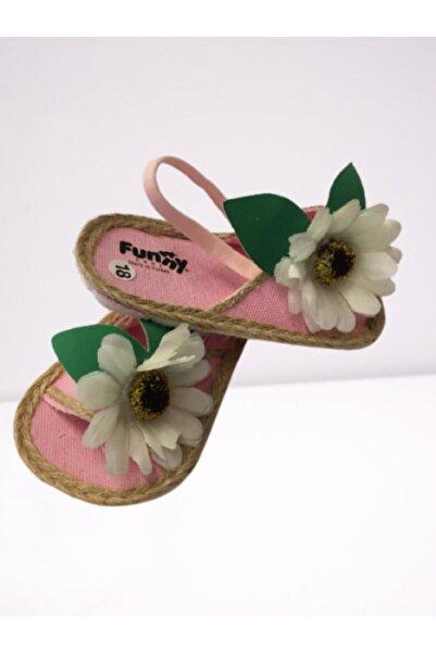 Funny Baby Kız Bebek Pembe Sandalet