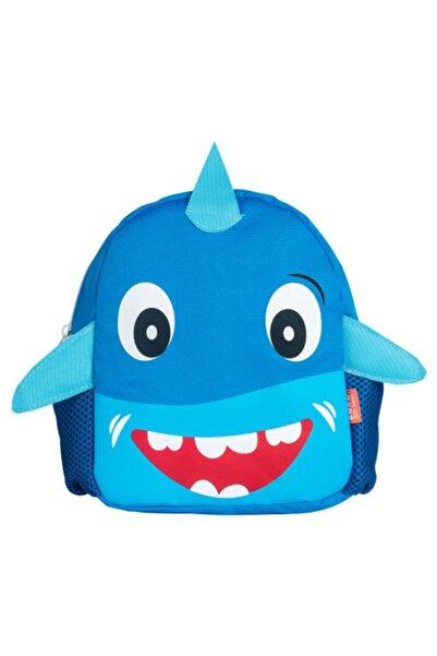 Zuzubags Çocuk Mavi Köpek Balığı Kreş Çantası