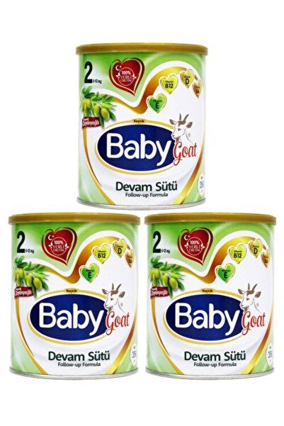 Baby Goat 2 Keçi Sütlü Organik Zeytinyağlı Devam Sütü 350 Gr 3'lü