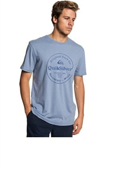 Quiksilver Erkek Turkuaz T-shirt