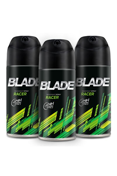 Blade Racer Erkek Deodorant 3x150ml