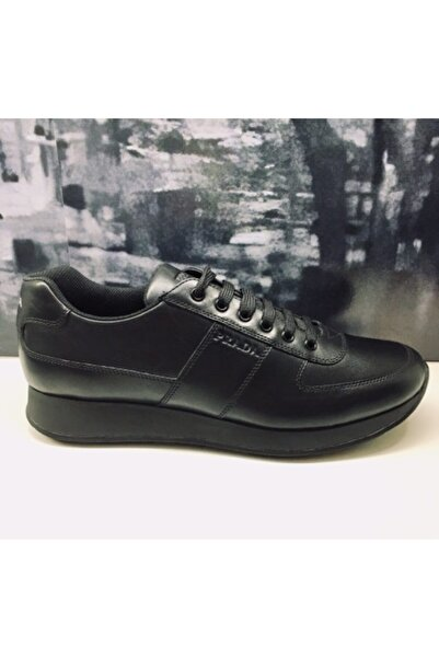 Prada Erkek Siyah Spor Ayakkabı