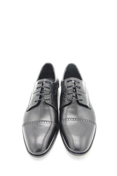 Sterk Ayakkabı Siyah Hakiki Deri Topuklu Erkek Klasik Ayakkabı